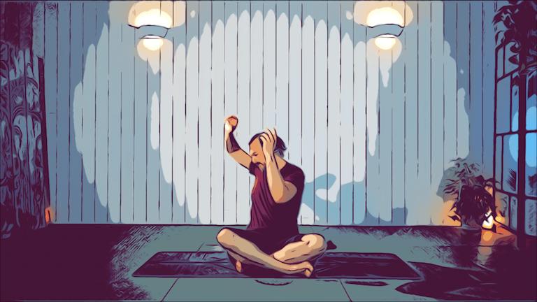 Kriya para el tercer loto y el sistema glandular
