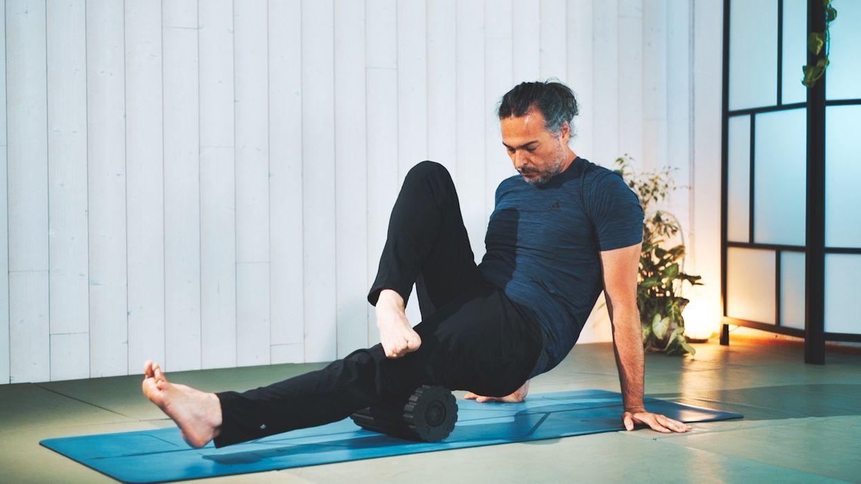 Yoga para Piernas Cansadas